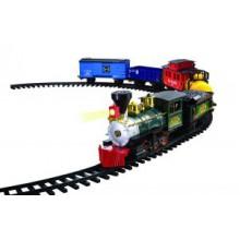 """Модель железной дороги на радиоуправлении """"Санта-Фе Экспресс"""" Ez-Tec"""